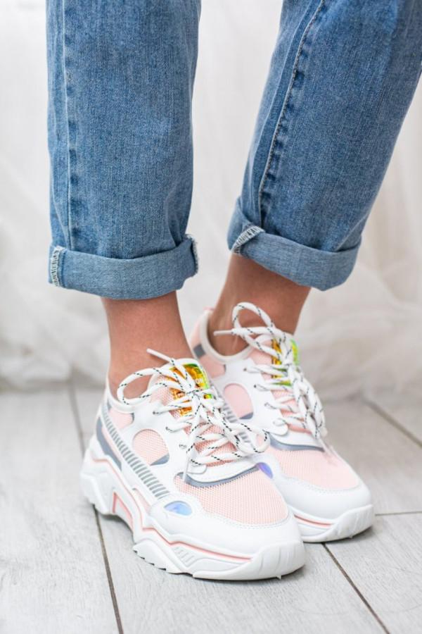 Buty Sportowe Damskie Pastelowy Roz Ubrania Sprawdz Teraz Joyful
